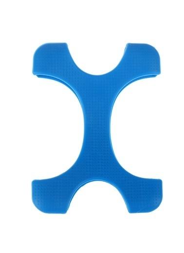 Techmaster 2.5'' inç Darbeye Dayanıklı Esnek Harddisk Koruma Silikonu Mavi